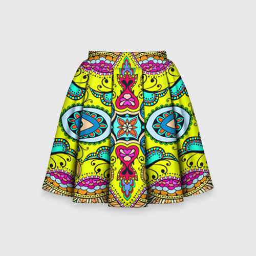 Детская юбка-солнце 3D Узоры 3