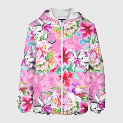 Цветы розовые
