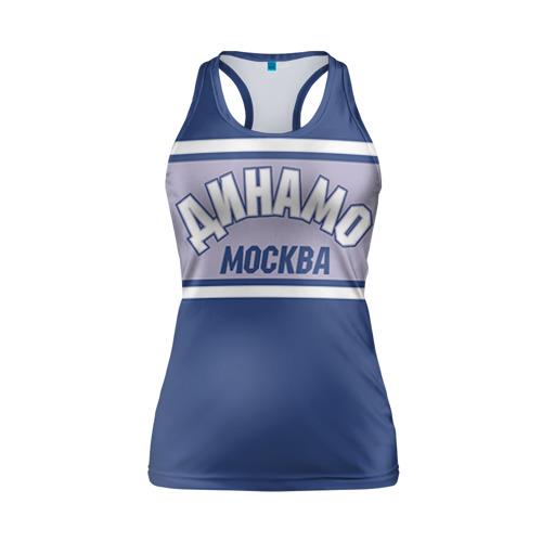 Женская майка 3D спортивная Динамо Москва