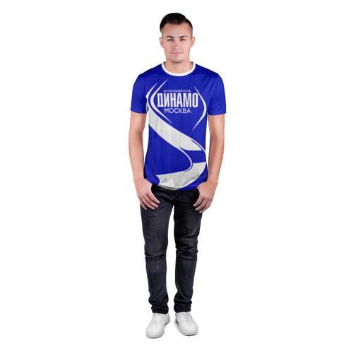Мужская футболка 3D спортивная  Фото 04, ФК Динамо