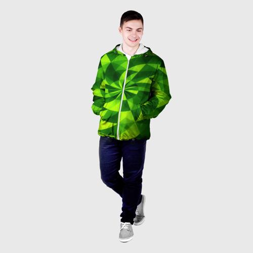 Мужская куртка 3D  Фото 03, Текстура