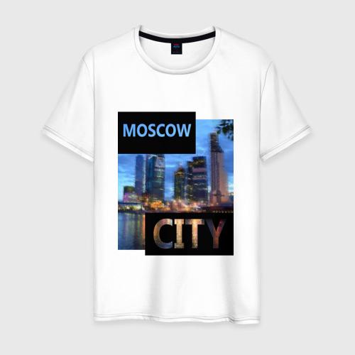 Мужская футболка хлопок Moscow Фото 01