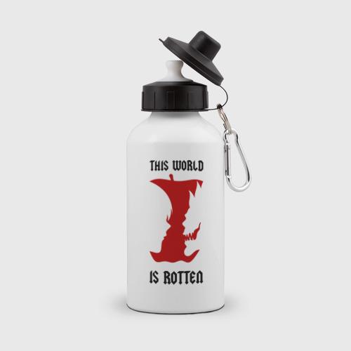 Бутылка спортивная This world is rotten