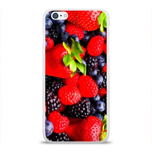 Чехол для Apple iPhone 6Plus/6SPlus силиконовый глянцевый  Фото 01, Ягоды
