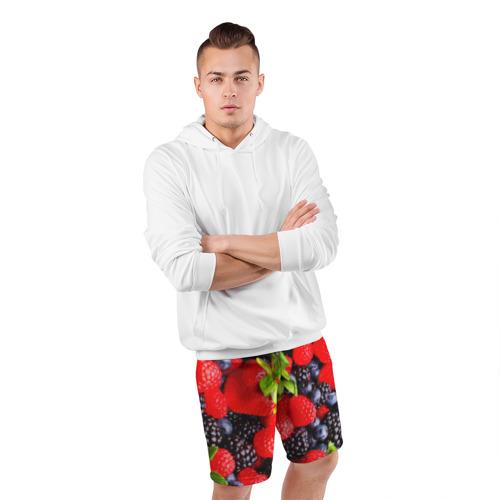 Мужские шорты 3D спортивные  Фото 05, Ягоды