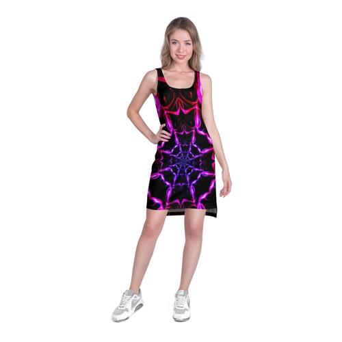 Платье-майка 3D  Фото 03, Паутина