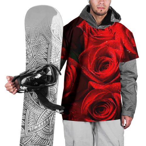 Накидка на куртку 3D  Фото 01, Розы