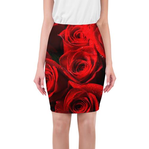 Юбка 3D Розы
