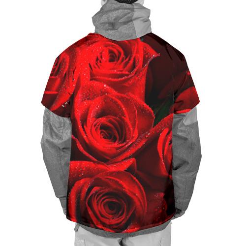 Накидка на куртку 3D  Фото 02, Розы