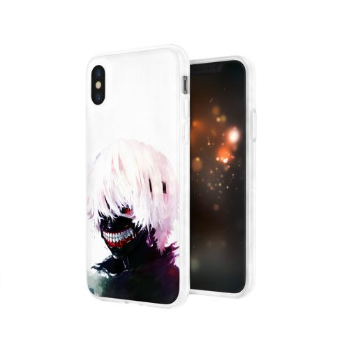 Чехол для Apple iPhone X силиконовый глянцевый  Фото 03, Smile