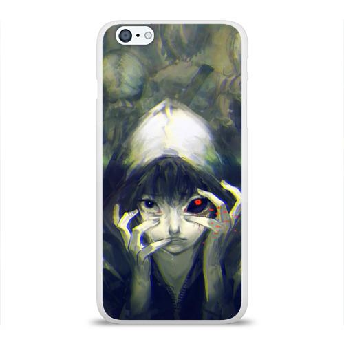 Чехол для Apple iPhone 6Plus/6SPlus силиконовый глянцевый  Фото 01, Глаз