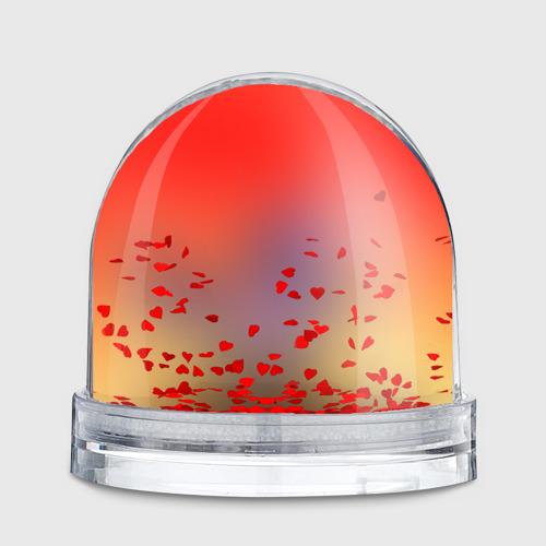 Водяной шар  Фото 02, Red Sky