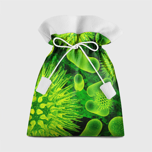 Подарочный 3D мешок Вирус