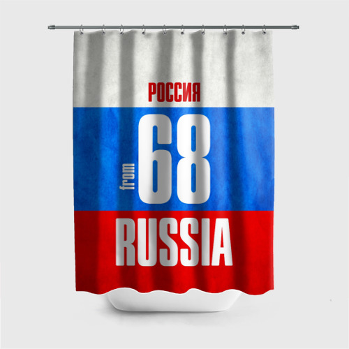 Штора 3D для ванной  Фото 01, Russia (from 68)