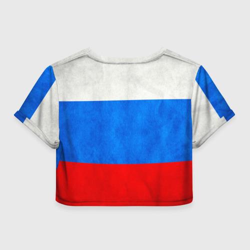 Женская футболка 3D укороченная  Фото 02, Russia (from 73)