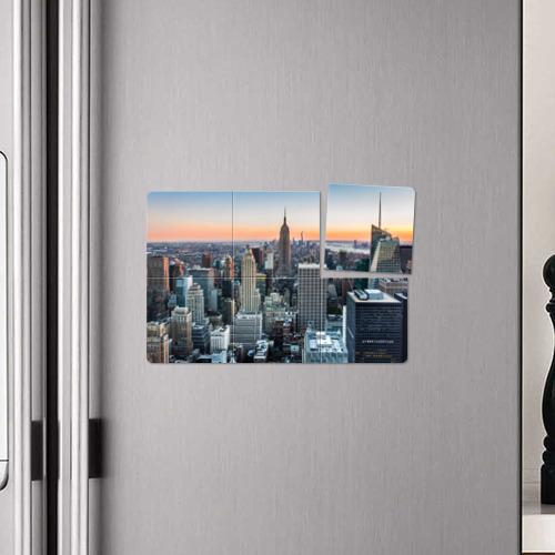 Магнитный плакат 3Х2  Фото 04, Америка