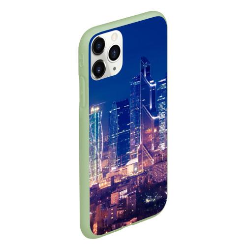 Чехол для iPhone 11 Pro Max матовый Ночная Москва Фото 01