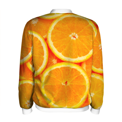 Мужской бомбер 3D  Фото 02, Апельсины