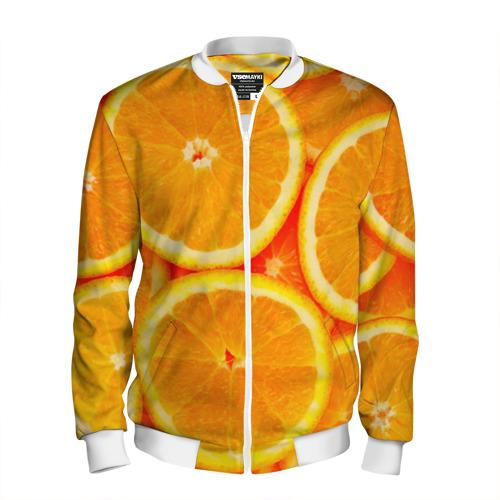 Мужской бомбер 3D  Фото 01, Апельсины