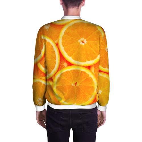Мужской бомбер 3D  Фото 04, Апельсины