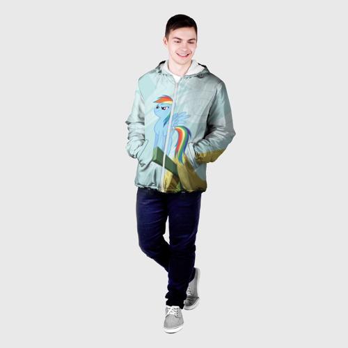 Мужская куртка 3D  Фото 03, Rainbow