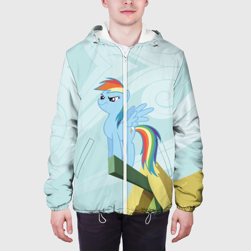 Мужская куртка 3D  Фото 04, Rainbow