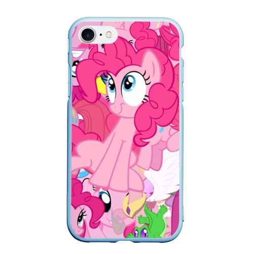 Чехол для iPhone 7/8 матовый Pinky Pie Фото 01