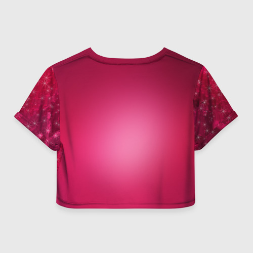 Женская футболка 3D укороченная  Фото 02, Пирожок