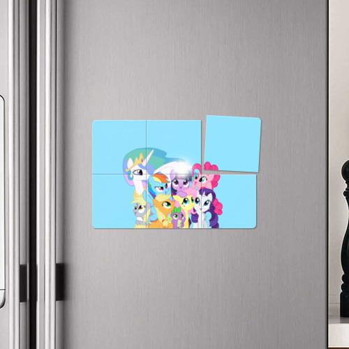 Магнитный плакат 3Х2 Blue Фото 01