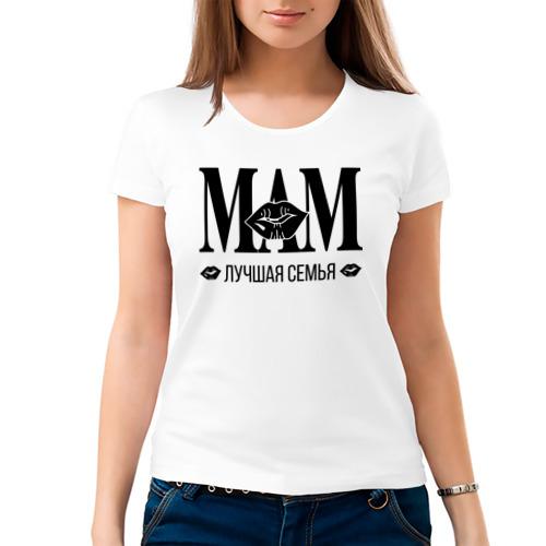 Женская футболка хлопок  Фото 03, Мама