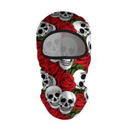 Черепа в розах