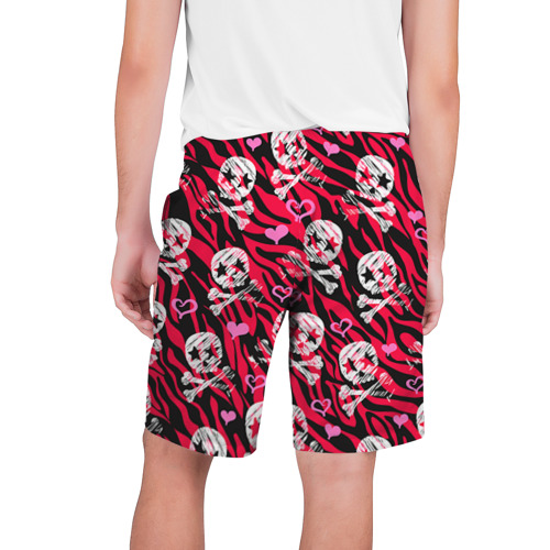 Мужские шорты 3D  Фото 02, Камуфляж с черепками