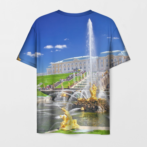 Мужская футболка 3D Петергоф Фото 01