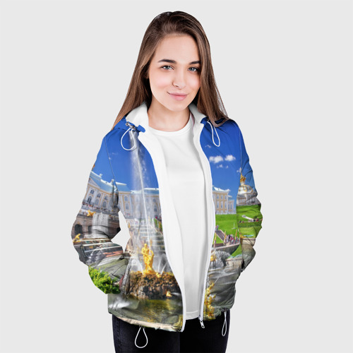 Женская куртка 3D  Фото 04, Петергоф