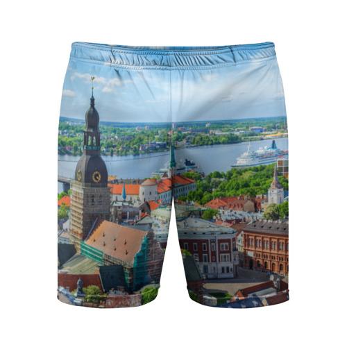 Мужские шорты 3D спортивные Рига