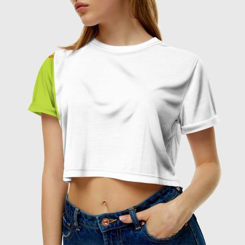 Женская футболка 3D укороченная  Фото 01, Невеста