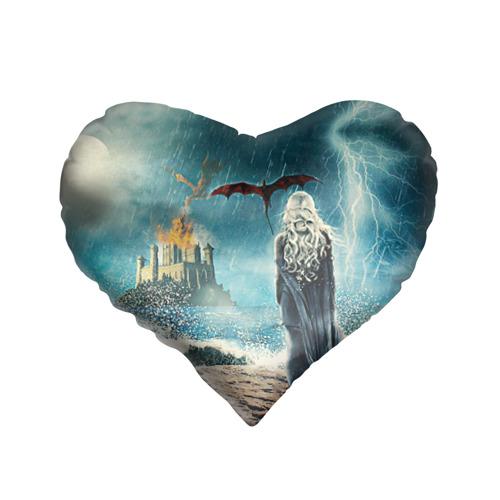 Подушка 3D сердце Матерь драконов