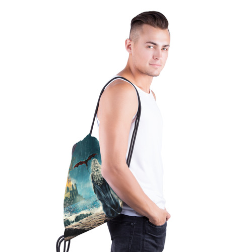 Рюкзак-мешок 3D  Фото 03, Матерь драконов