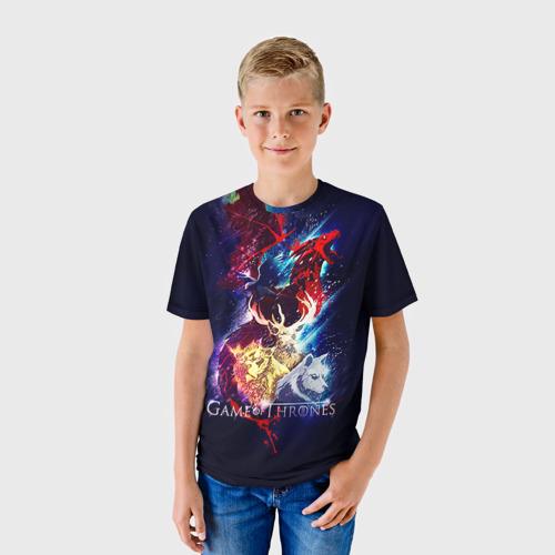 Детская футболка 3D  Фото 01, Game of thrones