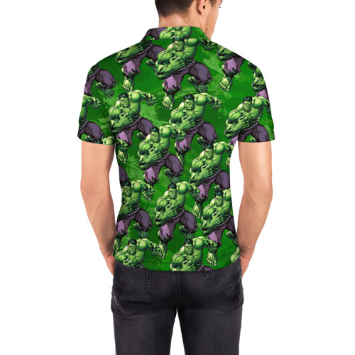 Мужская рубашка поло 3D  Фото 04, Сила