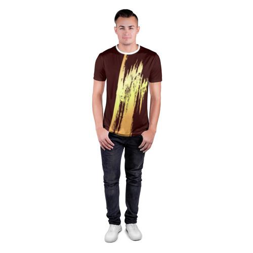 Мужская футболка 3D спортивная  Фото 04, Абстракция