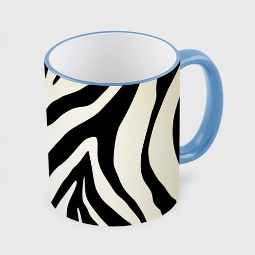 Кружка с полной запечаткой Раскрас зебры