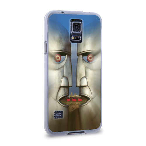 Чехол для Samsung Galaxy S5 силиконовый  Фото 02, Pink Floyd. The division bell