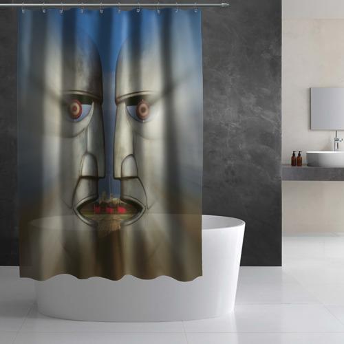 Штора 3D для ванной  Фото 02, Pink Floyd. The division bell