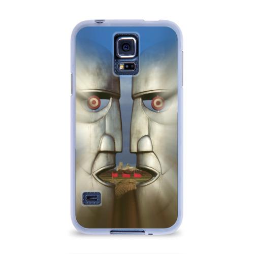 Чехол для Samsung Galaxy S5 силиконовый  Фото 01, Pink Floyd. The division bell