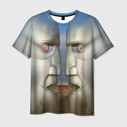 Мужская футболка 3D Pink Floyd. The division bell