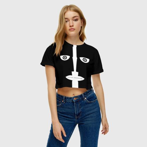 Женская футболка 3D укороченная  Фото 04, Pink Floyd. The division bell