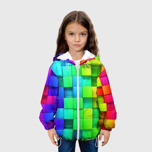 Детская куртка 3D  Фото 04, Кубики