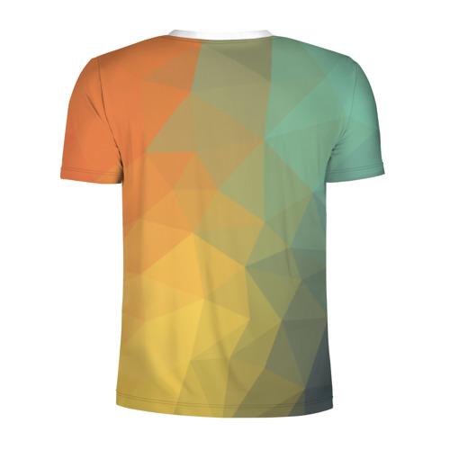 Мужская футболка 3D спортивная  Фото 02, Красочная текстура