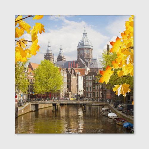 Холст квадратный  Фото 02, Amsterdam